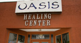 Our office for Acupuncture sessions at Oasis