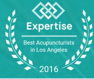 Hailed as one of LA's best Acupuncturists by Expertise.com