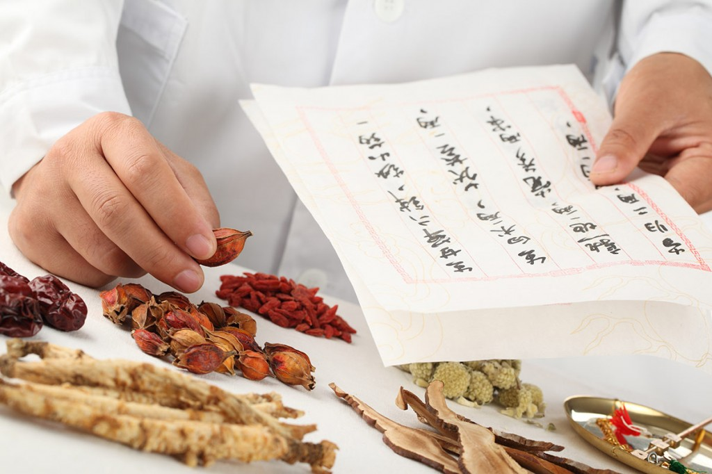 Ingredients used with acupuncture treatments