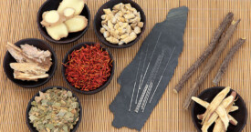 Natural ingredients used for traditional chinese medicine and acupuncture